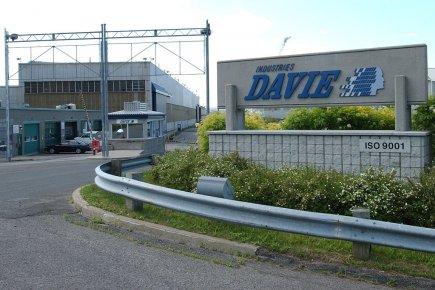 Chantier Davie Canada a annoncé jeudi la conclusion d'un accord pour la... (Photo Jean-Marie Villeneuve, Le Soleil)
