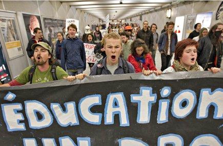 La Fédération étudiante collégiale du Québec (FECQ) trouve... (Photo: Patrick Sanfaçon, La Presse (Archives))