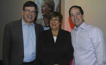 La présidente du PQ dans Chicoutimi, Marjolaine Bouchard,... (Photo Michel Tremblay)