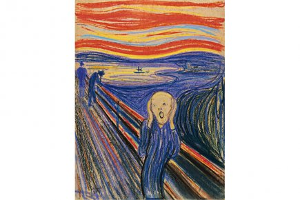 Le cri d'Edvard Munch.... (Photo fournie par Sotheby's)