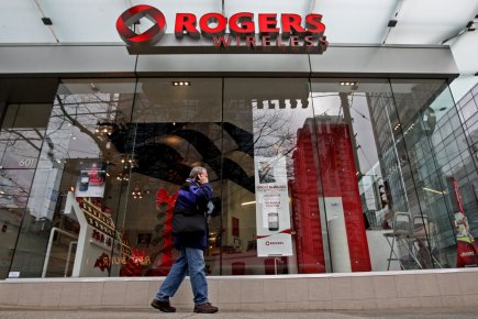 Rogers Communications (T.RCI.B) a dévoilé jeudi, tard en... (Photo PC)