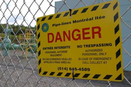 Pipe-Lines Montréal veut construire une station de pompage... (photo La Voix de l'Est)
