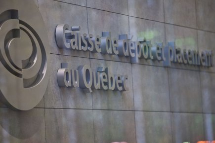 La Caisse de dépôt et placement du Québec (CDP) a annoncé lundi un... (Photo La Presse)