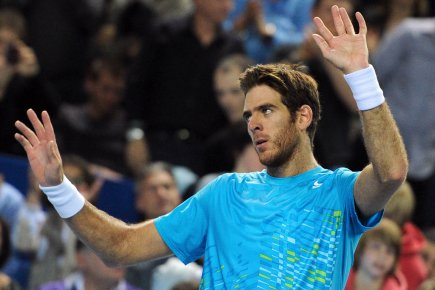 Juan Martin Del Potro... (Photo : Gerard Julien, AFP)