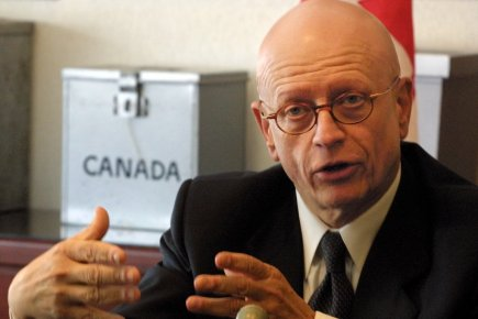 L'ancien directeur g?n?ral d'?lections Canada,Jean-Pierre Kingsley.... (Photo: Jonathan Hayward, Archives PC)