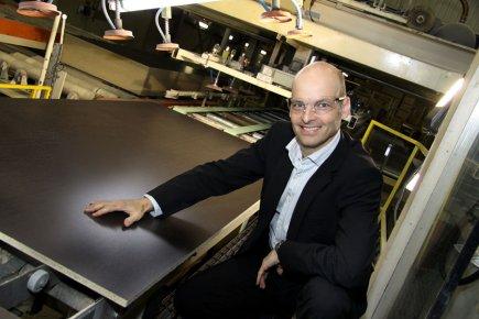 Louis Brassard, président-directeur général de Tafisa Canada.... (Photo La Tribune)
