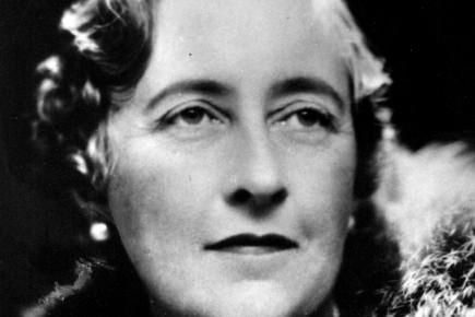 Agatha Christie... (Photo: Archives La Presse)