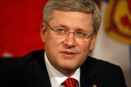 Stephen Harper... (photo archives le droit)