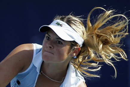 Aleksandra Wozniak a prévalu face à la Britannique Heather... (Photo: Reuters)
