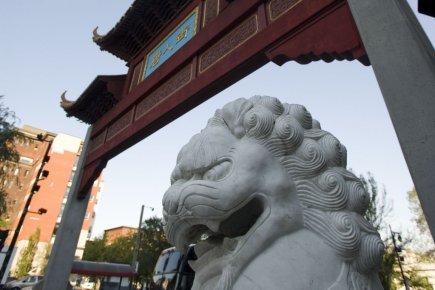 Crescent Chau, éditeur de La Presse chinoise, dans... (Photo: David Boily, Archives La Presse)