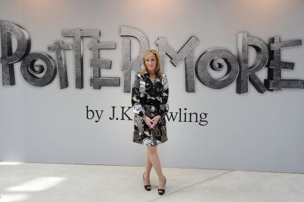J.K. Rowling avait annoncé la création de Pottermore... (Photo: Carl Court, Archives Agence France-Presse)