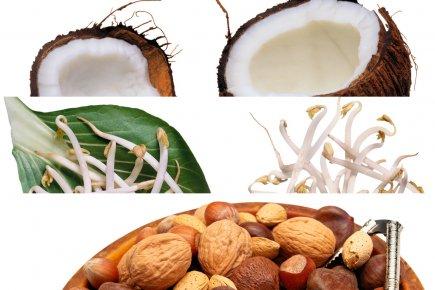 Lait de coco, lait de soya ou boisson... (Photomontage Lapresse.ca)