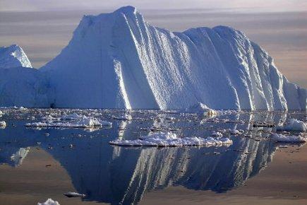 La calotte glaciaire du Groenland, dont la fonte contribue à la montée du... (Photo: Reuters)