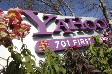 Le groupe internet américain Yahoo! (YHOO) a publié  mardi un... (Photo AP)