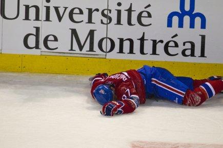 Ce moment dramatique pour Max Pacioretty a valu... (Photo: André Pichette, La Presse)