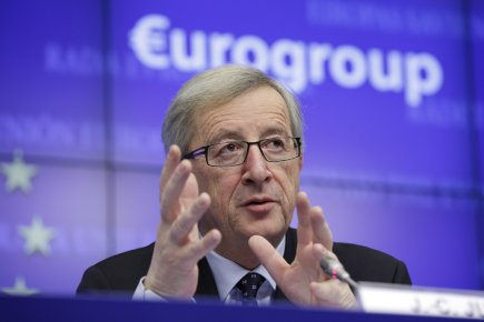 Jean-Claude Juncker, le chef de file des ministres... (Photo Associated Press)