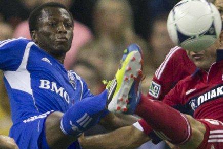 Sanna Nyassi n'a pas participé à l'entraînement de... (Photo: Reuters)