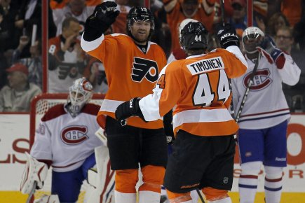 En s'inclinant 4-1 devant les Flyers de Philadelphie,... (Photo: AP)