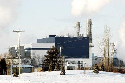 La centrale de gaz naturel de Bécancour, connue... (Photothèque Le Soleil)