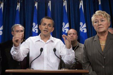 Jean Poirier, représentant régional du syndicat des machinistes... (Photo: Jacques Boissinot, PC)