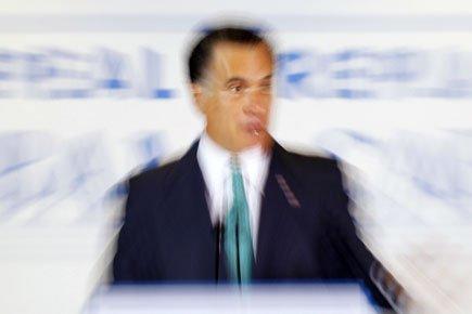 Lundi, Mitt Romney avait qualifié la Russie «d'ennemi... (Photo: Reuters)