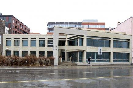 D'après les plans du promoteur, l'immeuble d'habitation Le... (Photo: Robert Skinner, La Presse)