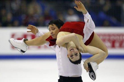 Tessa Virtue et Scott Moir ont été sacrés... (Photo : François Mori, AP)