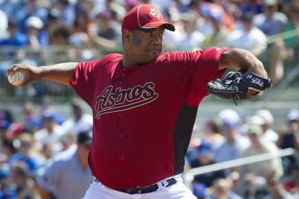 Livan Hernandez... (Photo: Reuters)