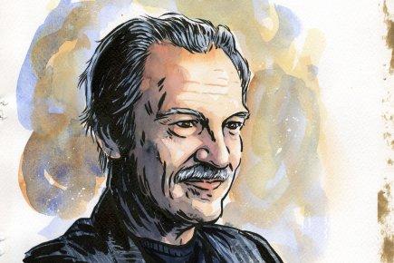 Pierre Lassonde, président de Franco-Nevada.... (Illustration d'André Rivest, d'après une photo d'Édouard Plante-Fréchette, La Presse)