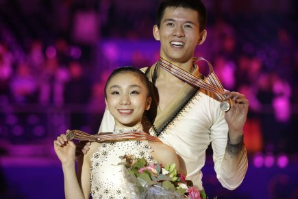 Narumi Takahashi et Mervin Tran.... (Photo Associated Press)