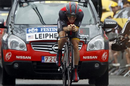 Levi Leipheimer... (Photo: AP)