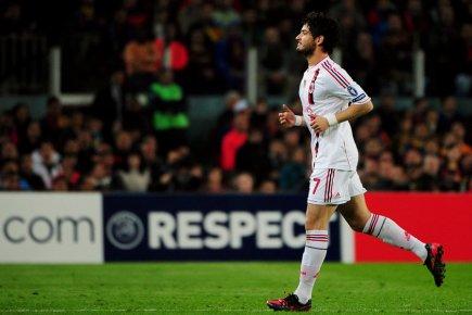 Alexandre Pato s'est blessé pour la 14e fois... (Photo: AFP)