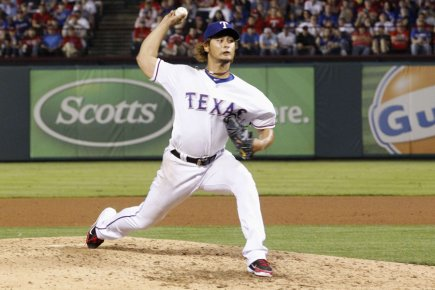 Yu Darvish... (Photo: Reuters)