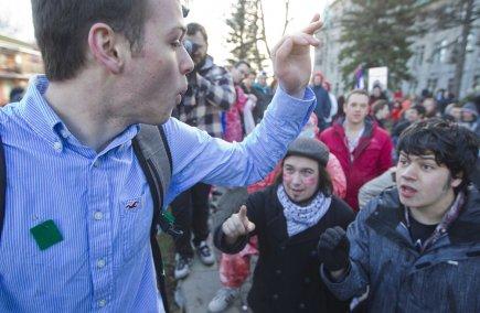 Au Québec, 40% des sondés étaient en faveur... (Photo Ivanoh Demers, La Presse)