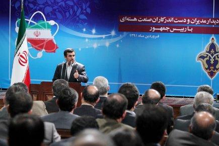 L'Iran «ne reculera pas d'un iota sur ses... (Photo: AFP)