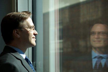 Alain Carrier, responsable du Bureau européen de l'Office... (Photo: Sarah Roesink, collaboration spéciale)