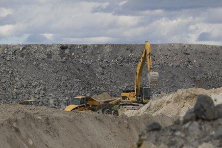 L'extraction minière, pétrolière et gazière et la construction... (Photo Hugo-Sébastien Aubert, archives La Presse)