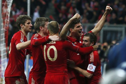 Bayern Munich... (Photo Reuters)