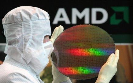 Le fabricant américain de microprocesseurs AMD (AMD)plongeait...