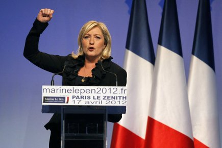 La présidente du Front National, parti politique en... (Photo: Reuters)