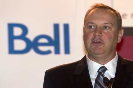 George Cope, PDG de Bell Canada.... (Photo Robert Skinner, La Presse)