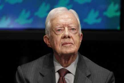 Jimmy Carter... (Photo: Reuters)