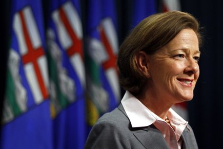Alison Redford.... (Photo: PC)