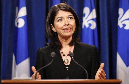 Line Beauchamp... (Photo Reuters)