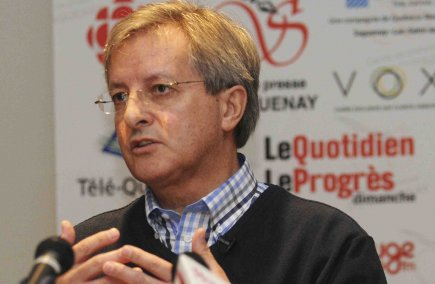 Jean Tremblay était de passage au Cercle de... (Photo Rocket Lavoie)
