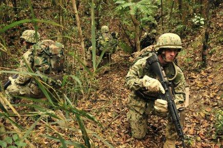 Le redéploiement des Marines sera réparti entre les... (Photo : AP)