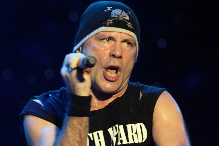 Bruce Dickinson, chanteur du groupe Iron Maiden.... (Photo: PC)