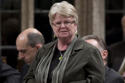 La ministre du Revenu national, Gail Shea... (Photo La Presse Canadienne)