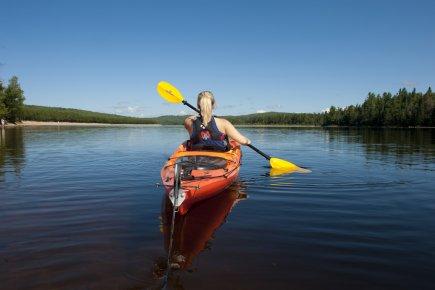 Le parc régional du lac Taureau offre aux... (Photo fournie par les parcs régionaux de la Matawinie)