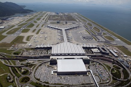 L'aéroport de Hong Kong... (Photo fournie par Hong Kong Airport)